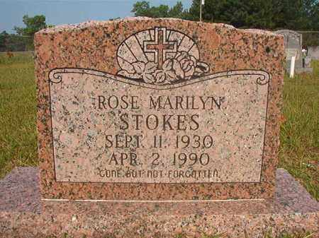STOKES, ROSE MARILYN - Calhoun County, Arkansas | ROSE MARILYN STOKES - Arkansas Gravestone Photos