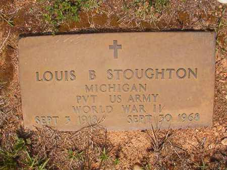 STOUGHTON (VETERAN WWII), LOUIS B - Calhoun County, Arkansas | LOUIS B STOUGHTON (VETERAN WWII) - Arkansas Gravestone Photos