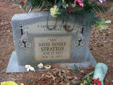 "STRATTON, DAVID VANDER  ""VAN"" - Calhoun County, Arkansas | DAVID VANDER  ""VAN"" STRATTON - Arkansas Gravestone Photos"