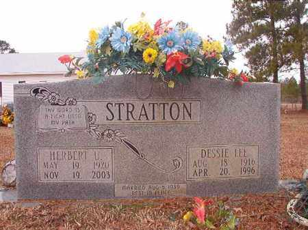 STRATTON, HERBERT U - Calhoun County, Arkansas | HERBERT U STRATTON - Arkansas Gravestone Photos