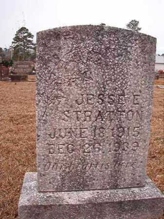 STRATTON, JESSE E - Calhoun County, Arkansas | JESSE E STRATTON - Arkansas Gravestone Photos