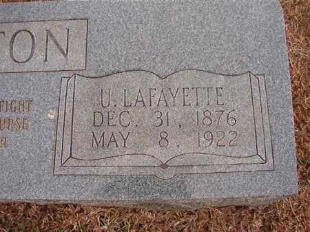 STRATTON, U LAFAYETTE - Calhoun County, Arkansas | U LAFAYETTE STRATTON - Arkansas Gravestone Photos