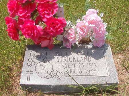 JACOBS STRICKLAND, ESTELLA - Calhoun County, Arkansas | ESTELLA JACOBS STRICKLAND - Arkansas Gravestone Photos