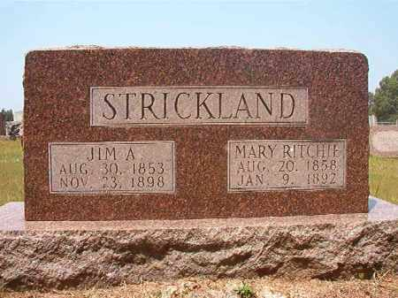STRICKLAND, JIM A - Calhoun County, Arkansas | JIM A STRICKLAND - Arkansas Gravestone Photos