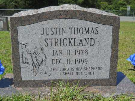 STRICKLAND, JUSTIN THOMAS - Calhoun County, Arkansas | JUSTIN THOMAS STRICKLAND - Arkansas Gravestone Photos