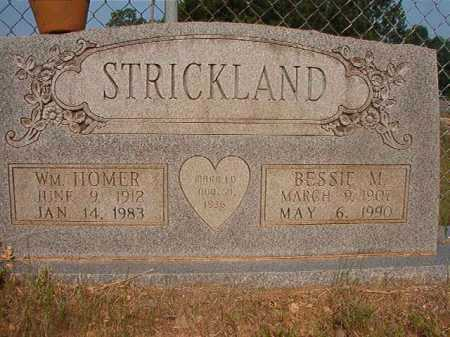 STRICKLAND, WILLIAM HOMER - Calhoun County, Arkansas | WILLIAM HOMER STRICKLAND - Arkansas Gravestone Photos