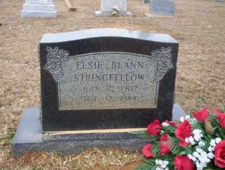BLANN STRINGFELLOW, ELSIE - Calhoun County, Arkansas | ELSIE BLANN STRINGFELLOW - Arkansas Gravestone Photos