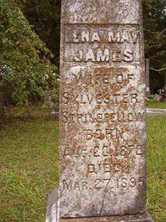 JAMES STRINGFELLOW, LENA MAY - Calhoun County, Arkansas | LENA MAY JAMES STRINGFELLOW - Arkansas Gravestone Photos