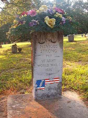STRONG (VETERAN WWI), NEVIOUS - Calhoun County, Arkansas | NEVIOUS STRONG (VETERAN WWI) - Arkansas Gravestone Photos