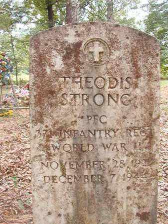 STRONG (VETERAN WWII), THEODIS - Calhoun County, Arkansas | THEODIS STRONG (VETERAN WWII) - Arkansas Gravestone Photos
