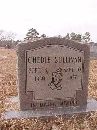 SULLIVAN, CHEDIE - Calhoun County, Arkansas | CHEDIE SULLIVAN - Arkansas Gravestone Photos