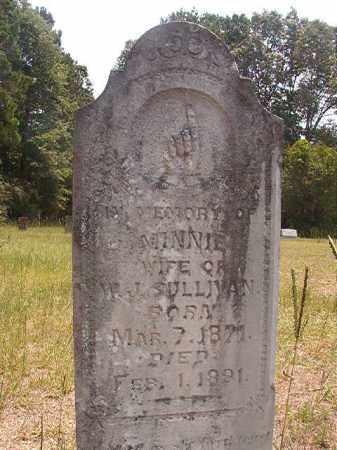 SULLIVAN, MINNIE - Calhoun County, Arkansas   MINNIE SULLIVAN - Arkansas Gravestone Photos