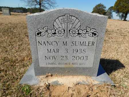 SUMLER, NANCY M - Calhoun County, Arkansas | NANCY M SUMLER - Arkansas Gravestone Photos
