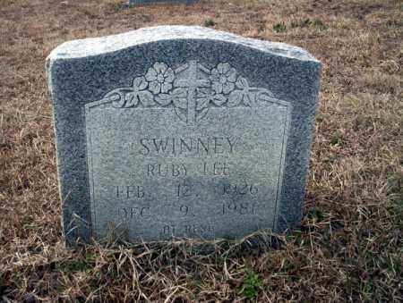 SWINNEY, RUBY LEE - Calhoun County, Arkansas | RUBY LEE SWINNEY - Arkansas Gravestone Photos