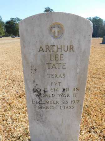 TATE (VETERAN WWII), ARTHUR LEE - Calhoun County, Arkansas | ARTHUR LEE TATE (VETERAN WWII) - Arkansas Gravestone Photos