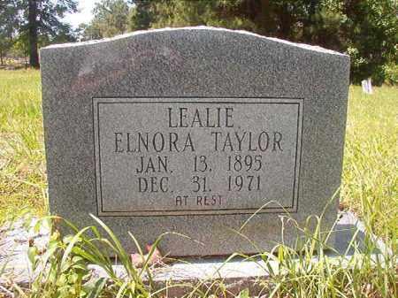 TAYLOR, LEALIE ELNORA - Calhoun County, Arkansas | LEALIE ELNORA TAYLOR - Arkansas Gravestone Photos
