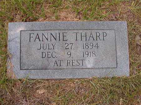 THARP, FANNIE - Calhoun County, Arkansas | FANNIE THARP - Arkansas Gravestone Photos