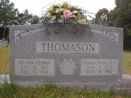 THOMASON, ALLISON GEORGE - Calhoun County, Arkansas | ALLISON GEORGE THOMASON - Arkansas Gravestone Photos