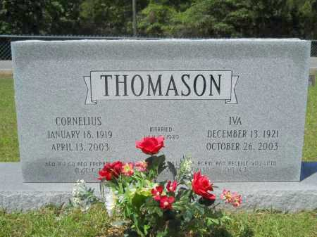 THOMASON, IVA - Calhoun County, Arkansas | IVA THOMASON - Arkansas Gravestone Photos