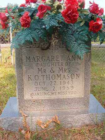 THOMASON, MARGARET ANN - Calhoun County, Arkansas | MARGARET ANN THOMASON - Arkansas Gravestone Photos