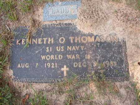 THOMASON (VETERAN WWII), KENNETH O - Calhoun County, Arkansas | KENNETH O THOMASON (VETERAN WWII) - Arkansas Gravestone Photos