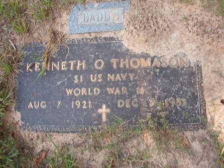 THOMASON (VETERAN WWII), KENNETH O - Calhoun County, Arkansas | KENNETH O THOMASON (VETERAN WWII) - Arkansas Gravestone Photos