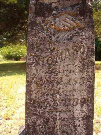 THOMASON, WILLIAM C - Calhoun County, Arkansas | WILLIAM C THOMASON - Arkansas Gravestone Photos