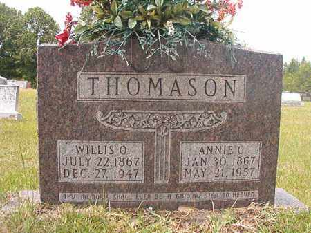 CALAWAY THOMASON, ANNIE - Calhoun County, Arkansas | ANNIE CALAWAY THOMASON - Arkansas Gravestone Photos