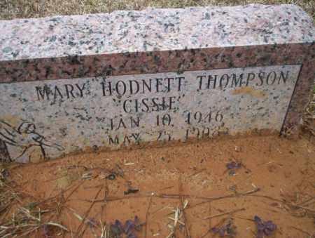 HODNETT THOMPSON, MARY - Calhoun County, Arkansas | MARY HODNETT THOMPSON - Arkansas Gravestone Photos