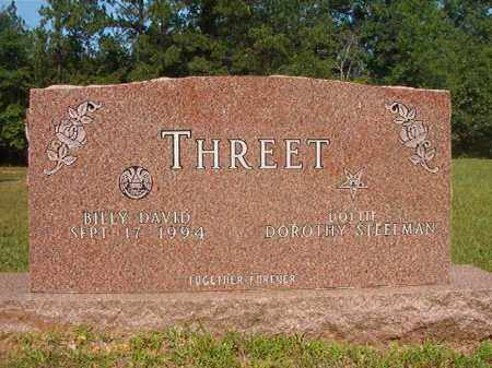 THREET, BILLY DAVID - Calhoun County, Arkansas | BILLY DAVID THREET - Arkansas Gravestone Photos