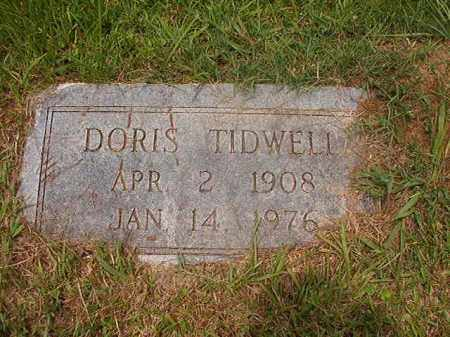 TIDWELL, DORIS - Calhoun County, Arkansas | DORIS TIDWELL - Arkansas Gravestone Photos