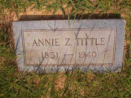 TITTLE, ANNIE Z - Calhoun County, Arkansas | ANNIE Z TITTLE - Arkansas Gravestone Photos