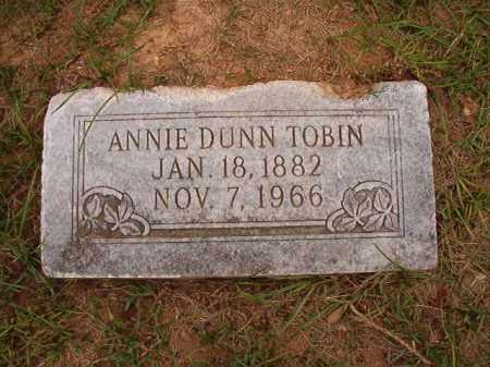DUNN TOBIN, ANNIE - Calhoun County, Arkansas | ANNIE DUNN TOBIN - Arkansas Gravestone Photos