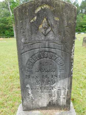 TOBIN, CORNELIUS D - Calhoun County, Arkansas | CORNELIUS D TOBIN - Arkansas Gravestone Photos