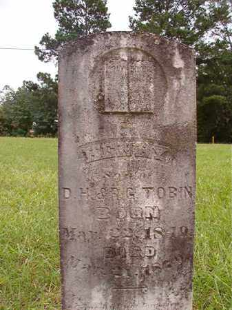 TOBIN, HENRY - Calhoun County, Arkansas | HENRY TOBIN - Arkansas Gravestone Photos