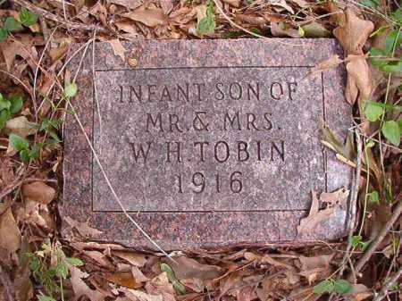 TOBIN, INFANT SON - Calhoun County, Arkansas | INFANT SON TOBIN - Arkansas Gravestone Photos