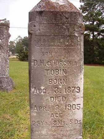 TOBIN, OLL D - Calhoun County, Arkansas   OLL D TOBIN - Arkansas Gravestone Photos
