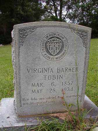TOBIN, VIRGINIA - Calhoun County, Arkansas | VIRGINIA TOBIN - Arkansas Gravestone Photos