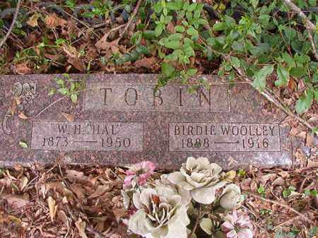 WOOLLEY TOBIN, BIRDIE - Calhoun County, Arkansas | BIRDIE WOOLLEY TOBIN - Arkansas Gravestone Photos