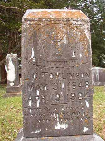 TOMLINSON, L G - Calhoun County, Arkansas | L G TOMLINSON - Arkansas Gravestone Photos