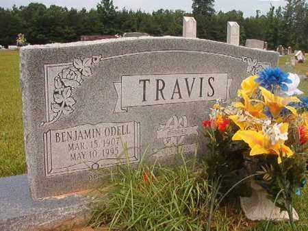 TRAVIS, BENJAMIN ODELL - Calhoun County, Arkansas | BENJAMIN ODELL TRAVIS - Arkansas Gravestone Photos