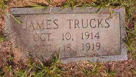 TRUCKS, JAMES - Calhoun County, Arkansas | JAMES TRUCKS - Arkansas Gravestone Photos