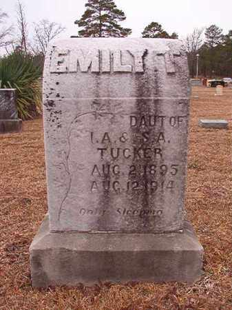 TUCKER, EMILY T - Calhoun County, Arkansas | EMILY T TUCKER - Arkansas Gravestone Photos
