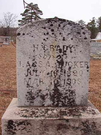 TUCKER, H GRADY - Calhoun County, Arkansas | H GRADY TUCKER - Arkansas Gravestone Photos