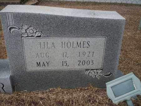 HOLMES TUCKER, LILA (CLOSEUP) - Calhoun County, Arkansas | LILA (CLOSEUP) HOLMES TUCKER - Arkansas Gravestone Photos
