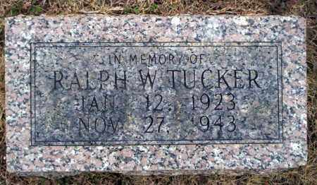 TUCKER, RALPH W - Calhoun County, Arkansas | RALPH W TUCKER - Arkansas Gravestone Photos