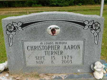 TURNER, CHRISTOPHER AARON - Calhoun County, Arkansas | CHRISTOPHER AARON TURNER - Arkansas Gravestone Photos