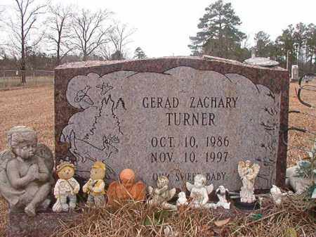TURNER, GERAD ZACHARY - Calhoun County, Arkansas | GERAD ZACHARY TURNER - Arkansas Gravestone Photos