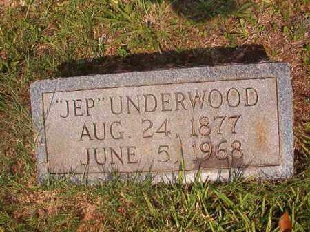 "UNDERWOOD, ""JEP"" - Calhoun County, Arkansas | ""JEP"" UNDERWOOD - Arkansas Gravestone Photos"