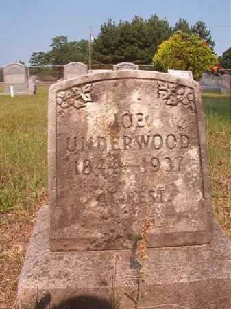 UNDERWOOD, JOE - Calhoun County, Arkansas | JOE UNDERWOOD - Arkansas Gravestone Photos